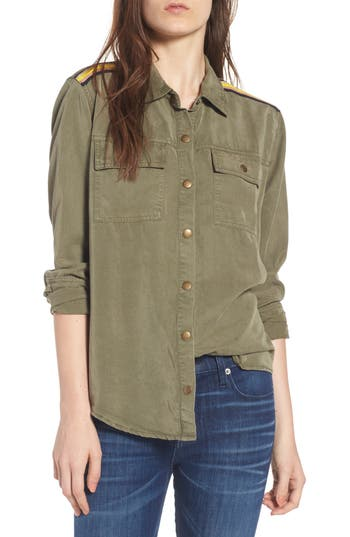 Splendid Military Shirt, Green