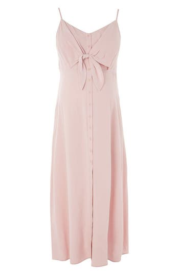Topshop Molly Knot Front Maternity Sundress