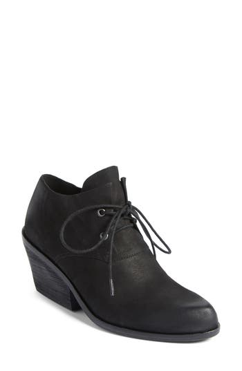 Eileen Fisher Charlie Lace-Up Bootie- Black