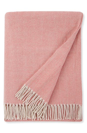 Sferra Celine Throw, Size One Size - Pink