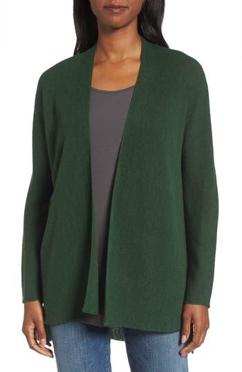Eileen Fisher Merino Wool Cardigan, Green