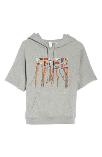 Free People Movement Freestyle Hoodie, Grey