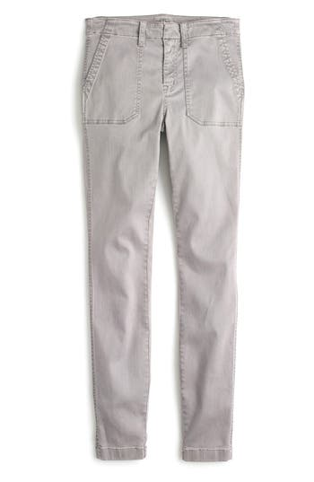 J.crew Skinny Cargo Pants, Purple