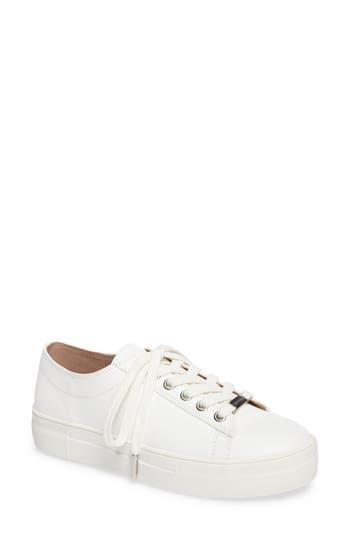 Topshop Caramel Platform Sneaker - White