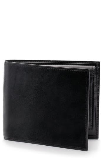 Bosca Aged Leather Rfid Wallet - Black