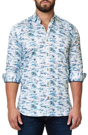 Men's Maceoo Luxor Slim Fit Print Sport Shirt