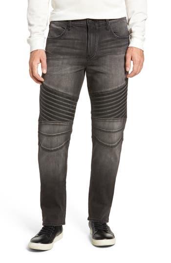 True Religion Brand Jeans Geno Straight Leg Jeans, Grey