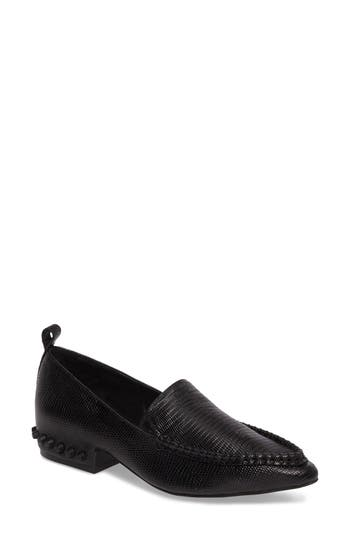 Jeffrey Campbell Barnett Studded Loafer- Black