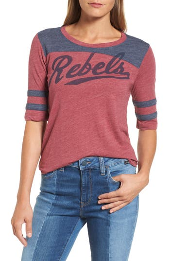 Lucky Brand Rebels Football Tee, White