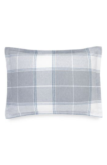 Ugg Flannel Luxe Sham, Size King - Blue