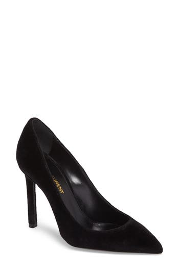 Saint Laurent Anja Pump, Black