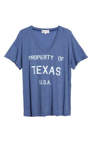 Women's Wildfox Property Of Texas Tee