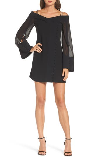 Women's C/meo Collective Presence Cold Shoulder Minidress