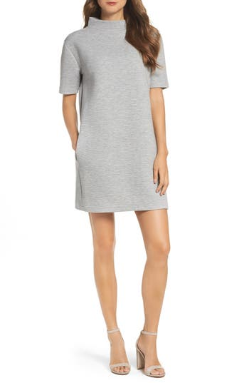 French Connection Marian Shift Dress, Grey