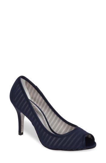 Adrianna Papell Flirt Peep Toe Pump- Blue
