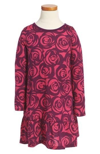 Girl's Tea Collection Rennie Rose Ruffle Dress