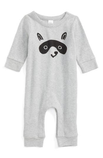 Infant Boy's Nordstrom Baby Raccoon Face Romper