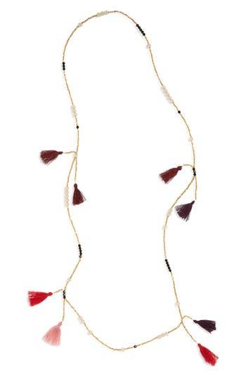 Women's Panacea Tassel Bead Necklace