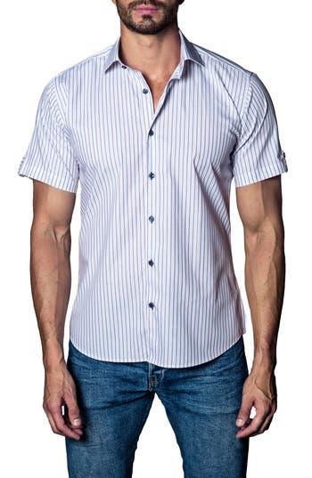 Men's Jared Lang Stripe Sport Shirt