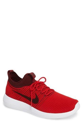 Nike Roshe Two Flyknit V2 Sneaker, Red