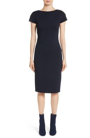 St. John Collection Milano Knit Dress, Blue