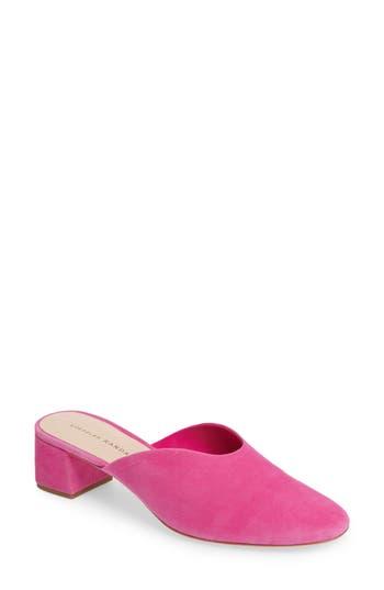 Loeffler Randall Lulu Block Heel Mule, Pink