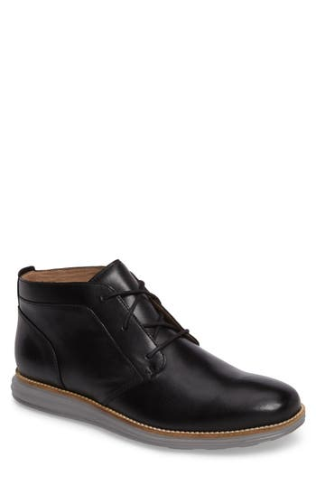 Cole Haan Original Grand Chukka Boot- Black