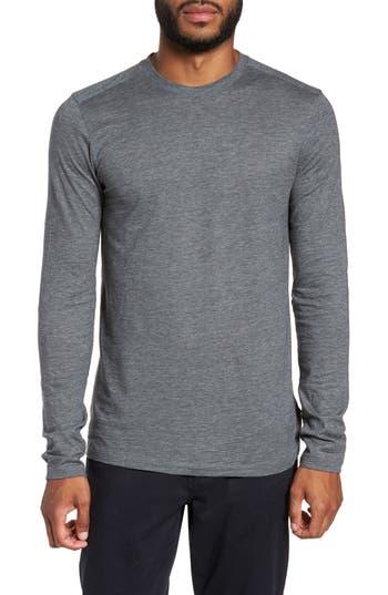 Boss Tenison Long Sleeve T-Shirt, Grey
