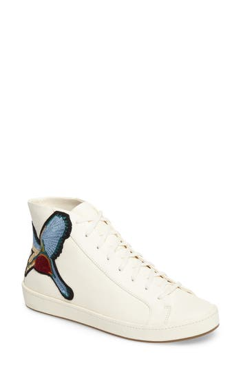 Joie Day High Top Sneaker, Ivory