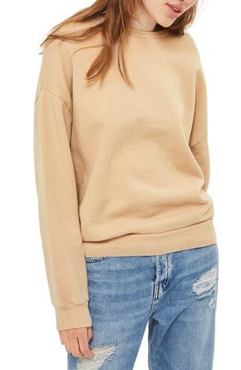 Topshop Sloppy Sweatshirt, US (fits like 0) - Ivory