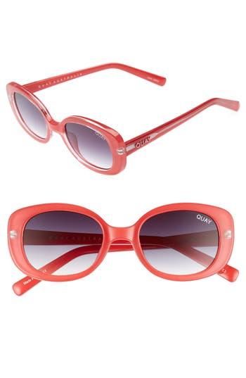 Quay Australia Lulu 4m Sunglasses - Red Fade
