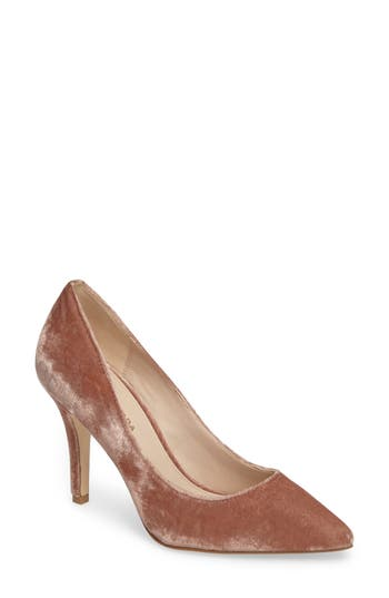 Pelle Moda Vally2 Pointy Toe Pump, Pink