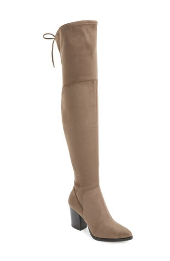 Marc Fisher Ltd Adora Over The Knee Boot- Beige