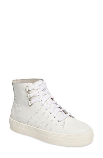 K-Swiss Modern High Top Sneaker, White