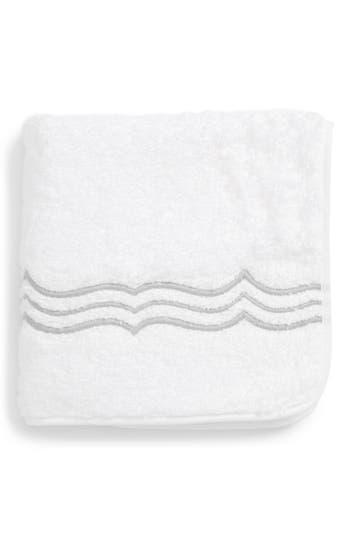 Matouk Paola Washcloth, Size One Size - Metallic