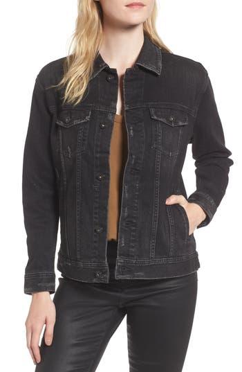 Women's Ag Nancy Distressed Denim Jacket