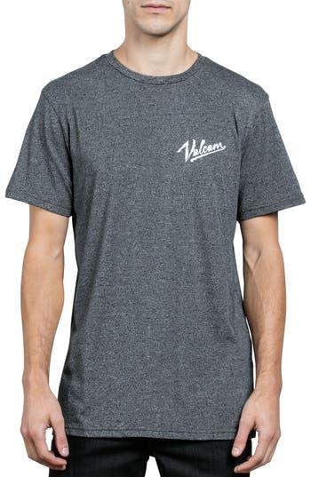 Volcom Kurrent Logo Graphic T-Shirt, Grey