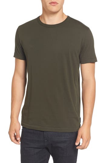 French Connection Slim Fit Crewneck T-Shirt, Green