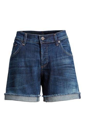 'Skyler' Low Rise Denim Shorts