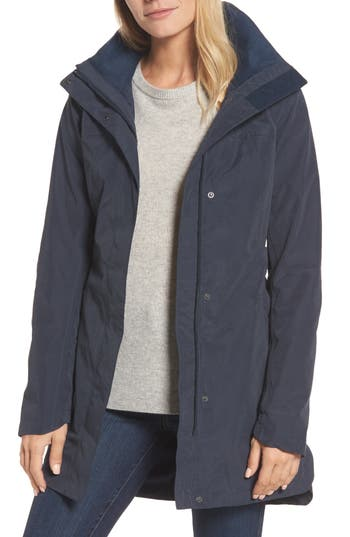 Women's The North Face Laney Ii Trench Raincoat, Size X-Small - Blue