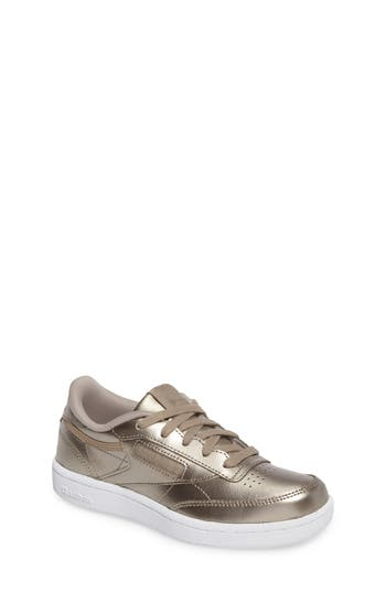 Girls Reebok Club C Melted Metallic Sneaker
