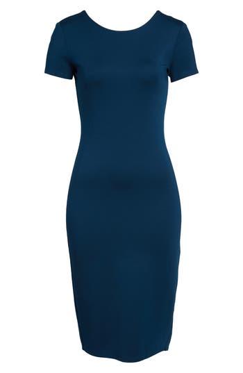 Sentimental Ny Ponte Sheath Dress, Blue