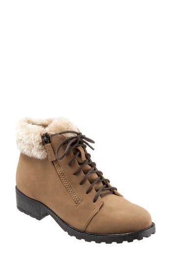 Trotters Below Zero Waterproof Winter Bootie, Brown