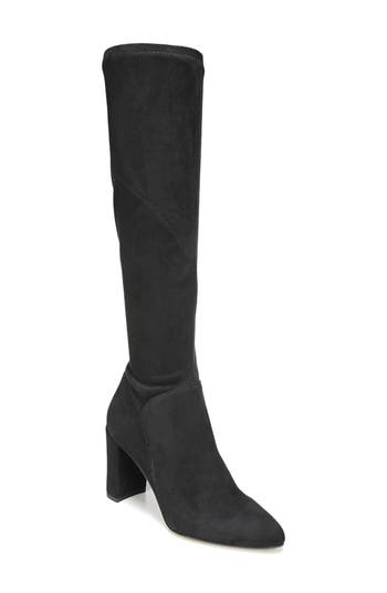Sarto By Franco Sarto Flavia Knee High Boot, Black