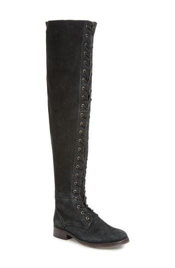 Free People Tennessee Over The Knee Boot, Black