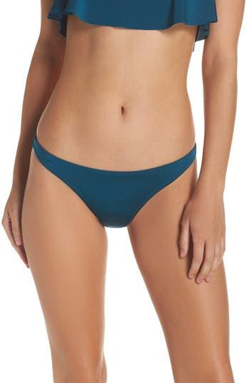 Milly St. Lucia Bikini Bottoms, Blue/green
