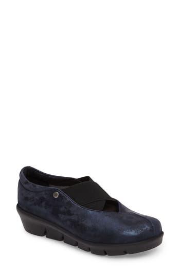 Wolky Cursa Slip-On Sneaker - Blue