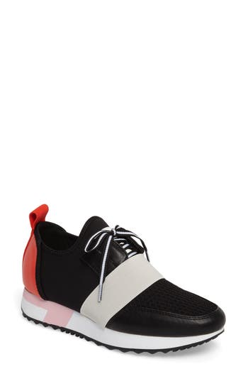 Steve Madden Antics Sneaker- Black