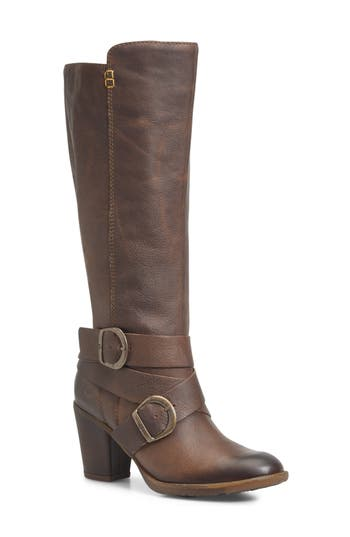 B?rn Cresent Knee High Boot- Brown