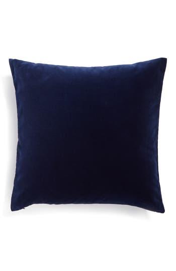 Calvin Klein Home Lucerne Velvet Pillow, Size One Size - Blue